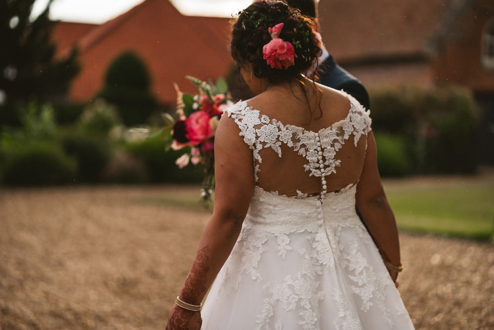 Lace Illusion Back Button Bride Bridal Dress Gown Preston Court Wedding The Last Of The Light