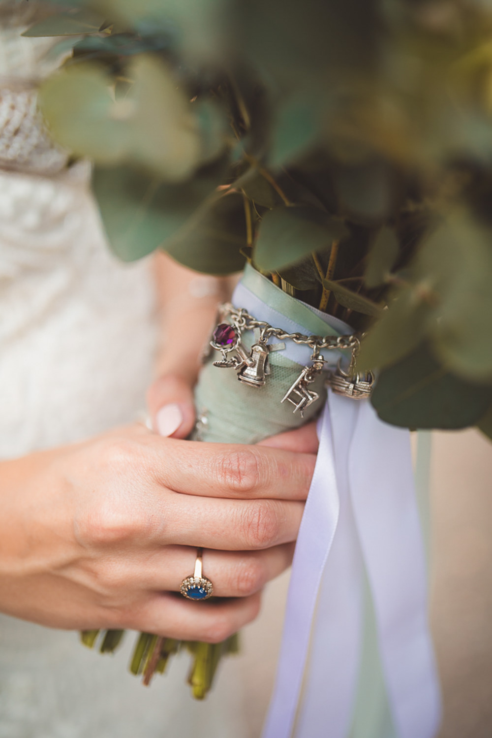 Bouquet Charm Bride Bridal Barn Wedding Shropshire Brightwing Photography