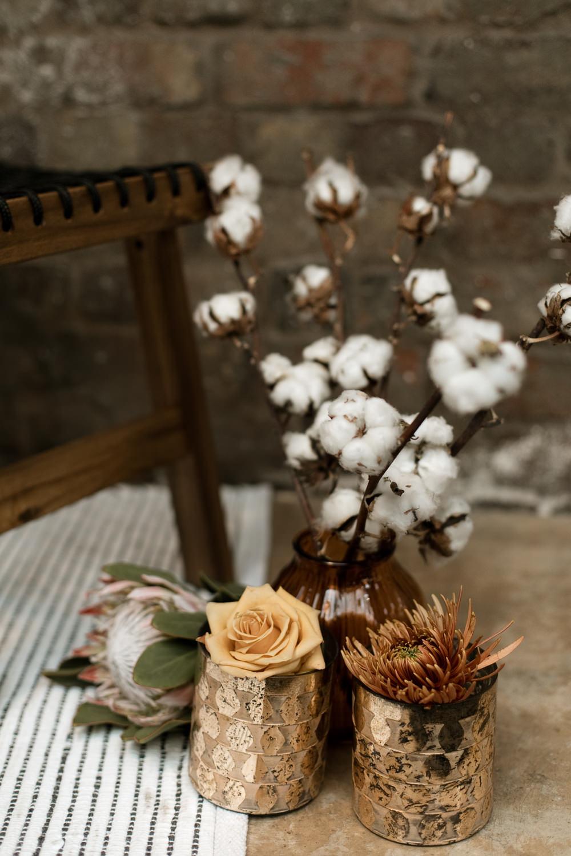 Flowers Cotton Decor Moroccan Wedding Ideas Emma Louise Photography