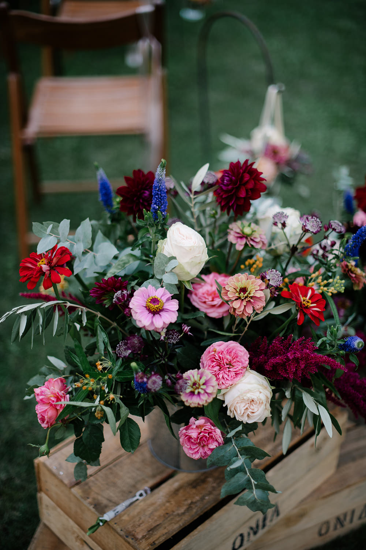 Flower Flowers Arrangement Candles Pink Roses Eucalyptus Dahlia Tuscany Wedding Lelia Scarfiotti