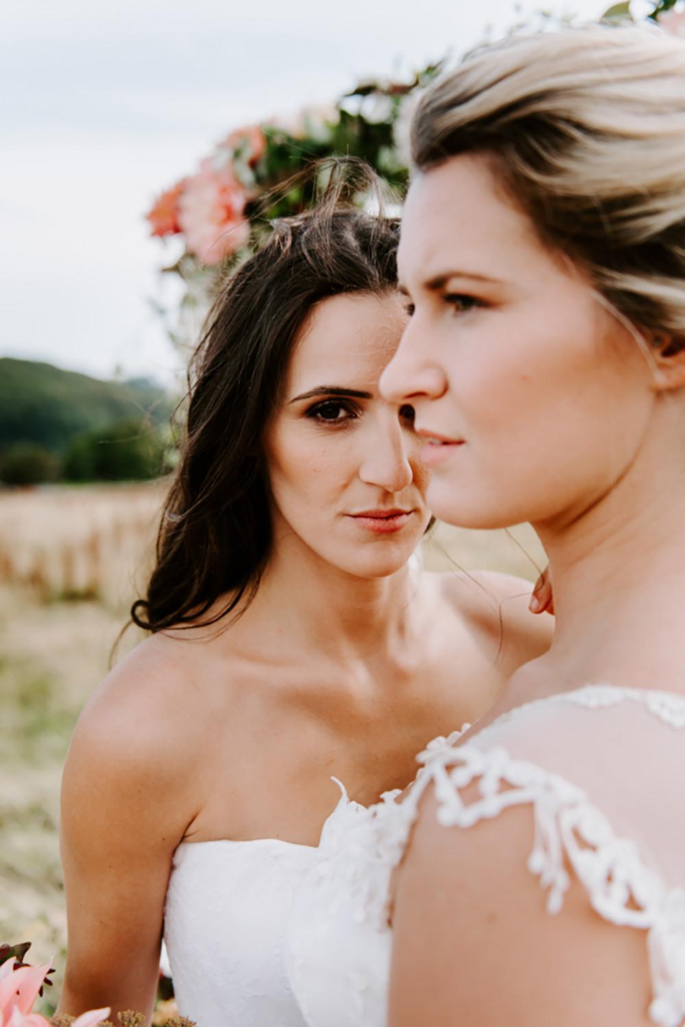 Bride Bridal Make Up Ethical Wedding Ideas Sadie Osborne Photography