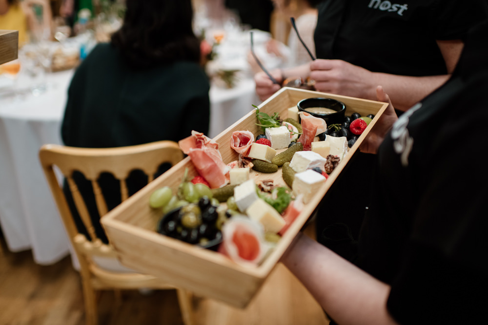 Canapes Henry Moore Wedding Ellie Gillard Photography