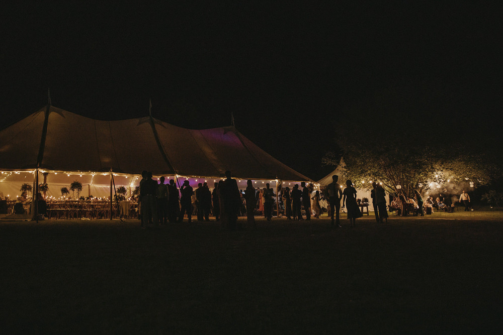 Fairy Lights Kent Marquee Wedding Lily Bungay and Co