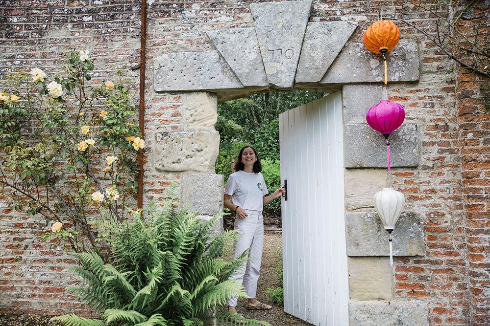 Vietnamese Lanterns Marquee Castle Wedding Rachael Fraser Photography