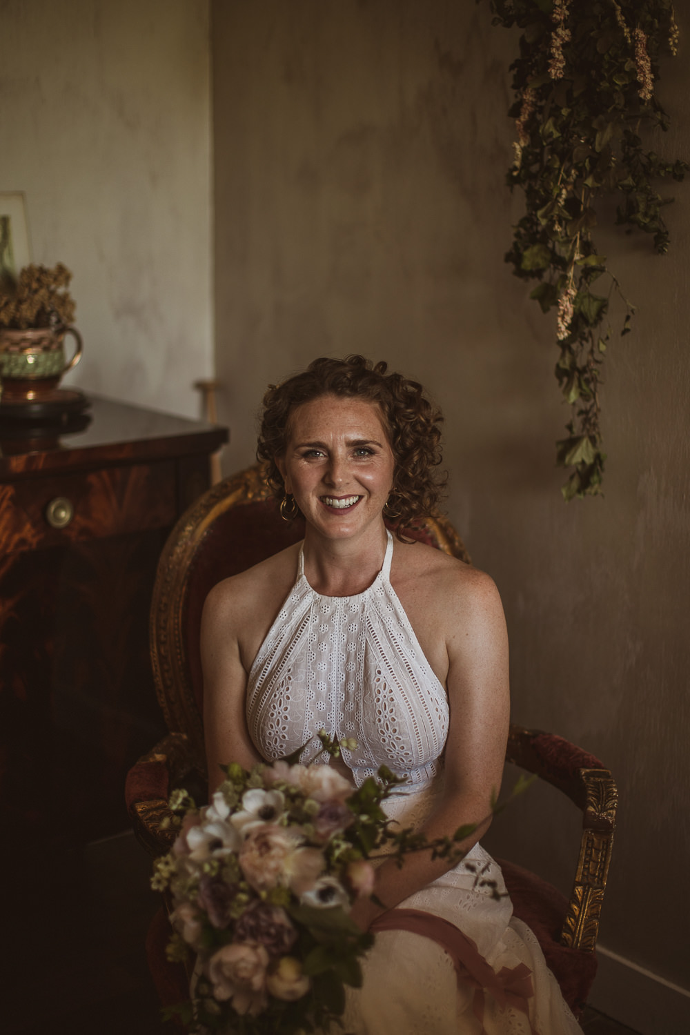 Bride Bridal Hair Make Up Escape To The Chateau Wedding The Springles