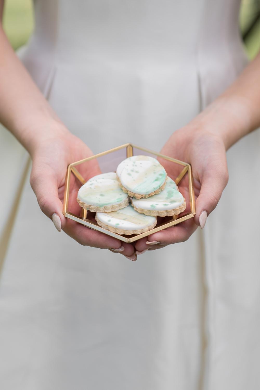 Cookies Minimalist Wedding Ideas Nicola Belson Photography