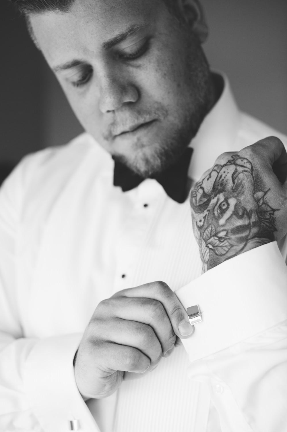 Groom Bow Tie Norway Wedding Maximilian Photography