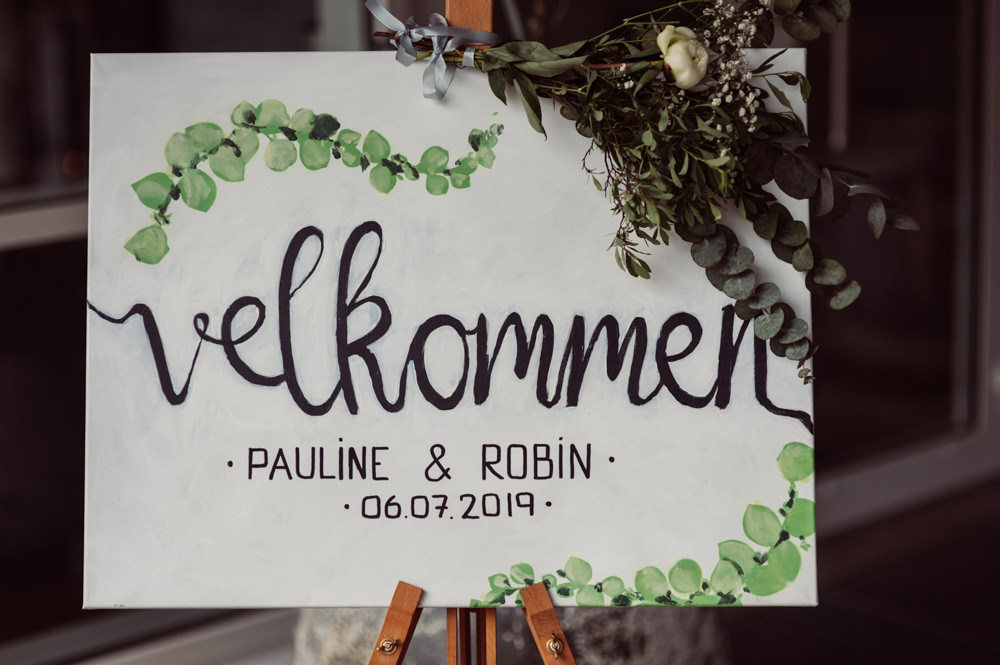 Welcome Sign Signs Signage Norway Wedding Maximilian Photography
