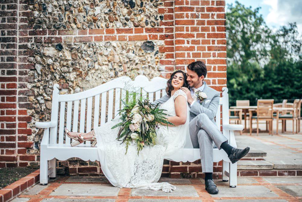 Bride Bridal Lace Dress Gown Tuffon Hall Wedding Three Flowers Photography