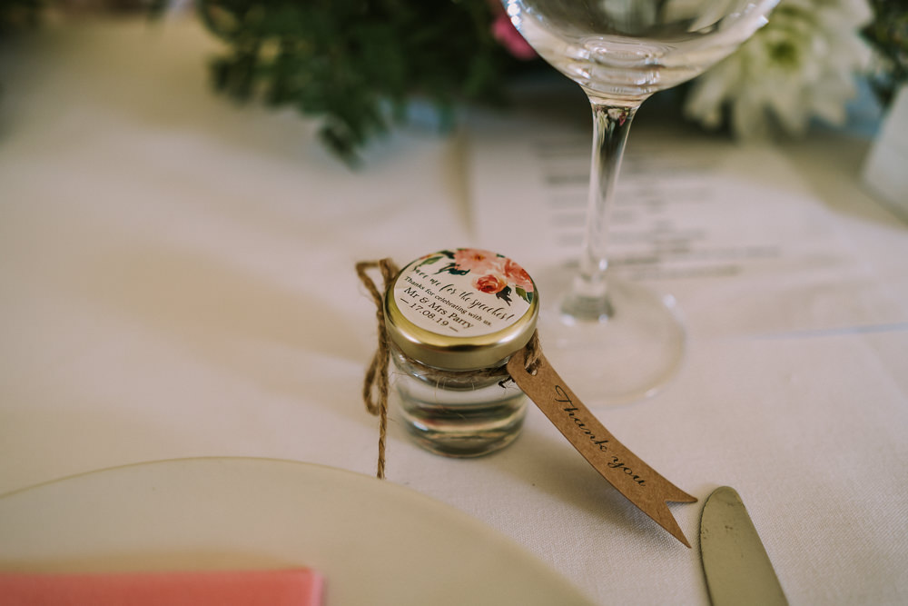 Jar Favours Crafty Village Hall Wedding Dot and Scolly Photography