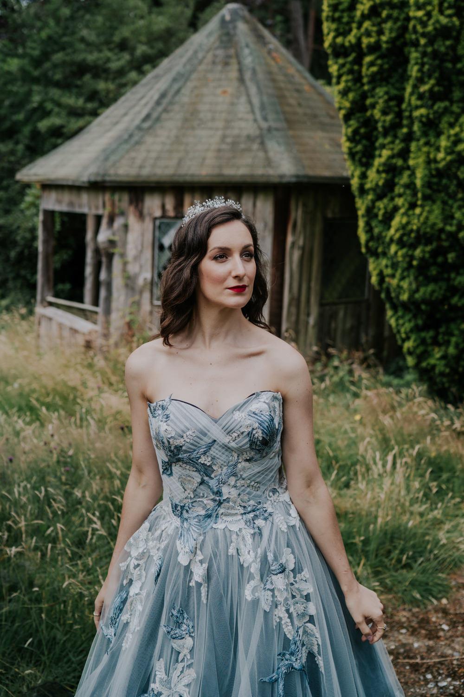 Bride Bridal Hair Make Up Crown Waves Snow White Wedding Inspiration Joasis Photography