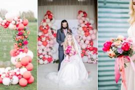 Coral Peach Wedding Ideas Courtney Dee Photography