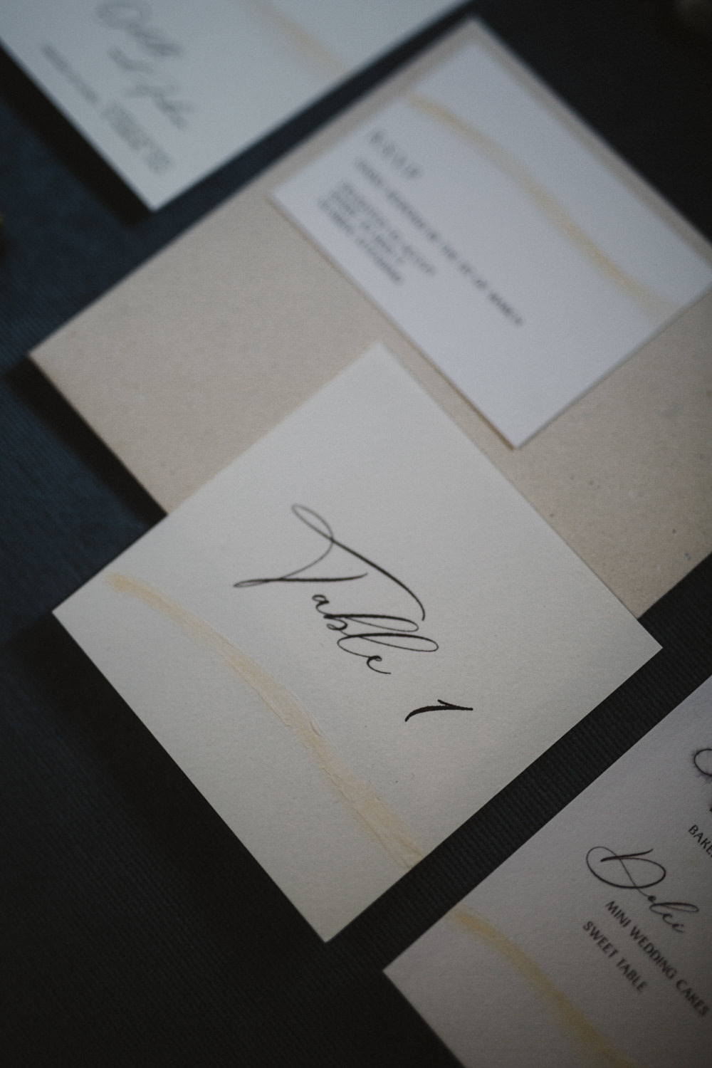 Stationery Calligraphy Table Number Le Marche Wedding Inspiration Francesca Angrisano