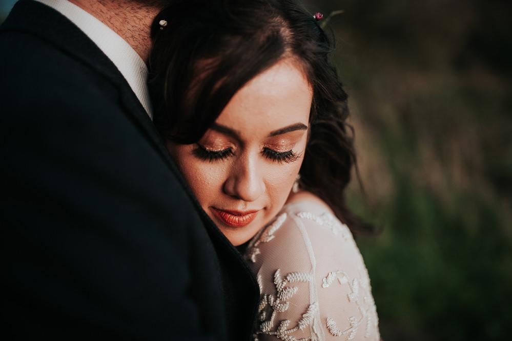 Bride Bridal Make Up Swancar Farm Country House Wedding Maree Frances Photography