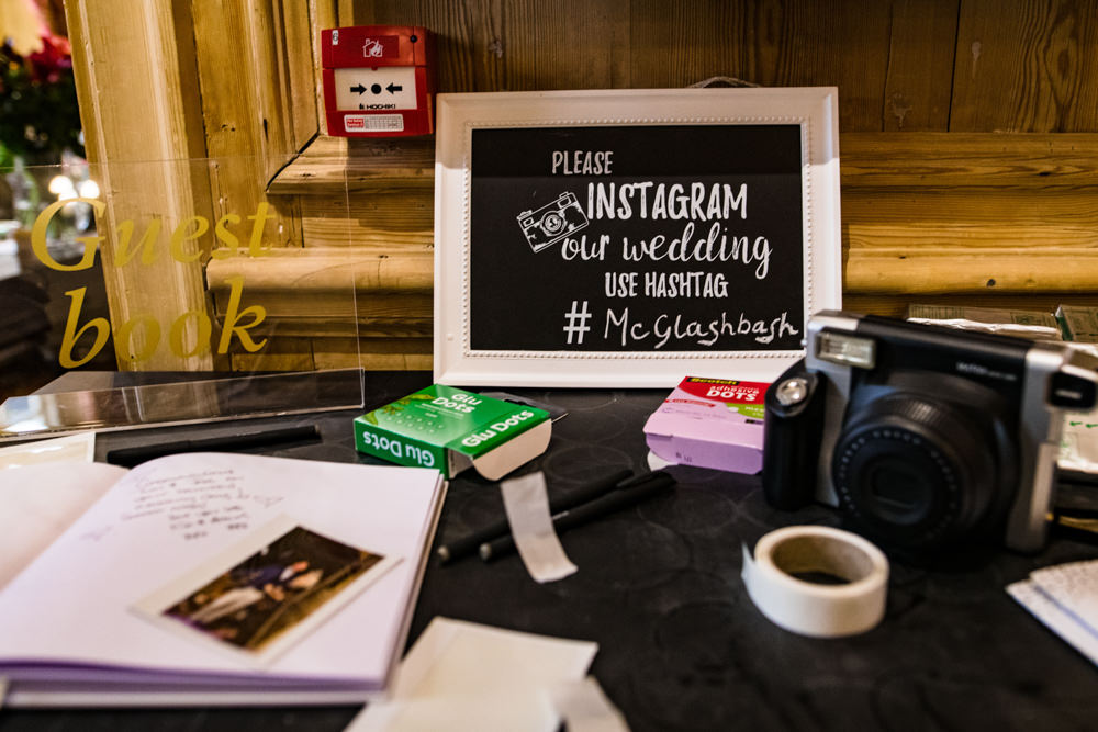 Photo Guest Book Anstey Hall Wedding Jonny Barratt Photography