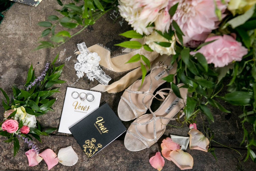 Bride Bridal Accessories Shoes Vows Flowers Floral Minneapolis Wedding Jeannine Marie Photography