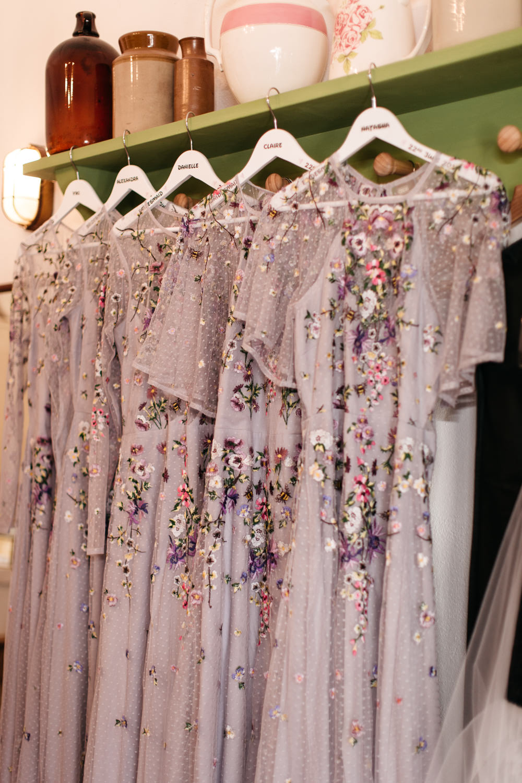 Bridesmaid Bridesmaids Dress Dresses ASOS Floral Wonwood Barton Wedding Emma Barrow Photography