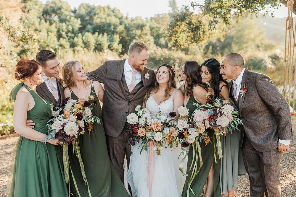 California Ranch Wedding WildflowerPhotoCo