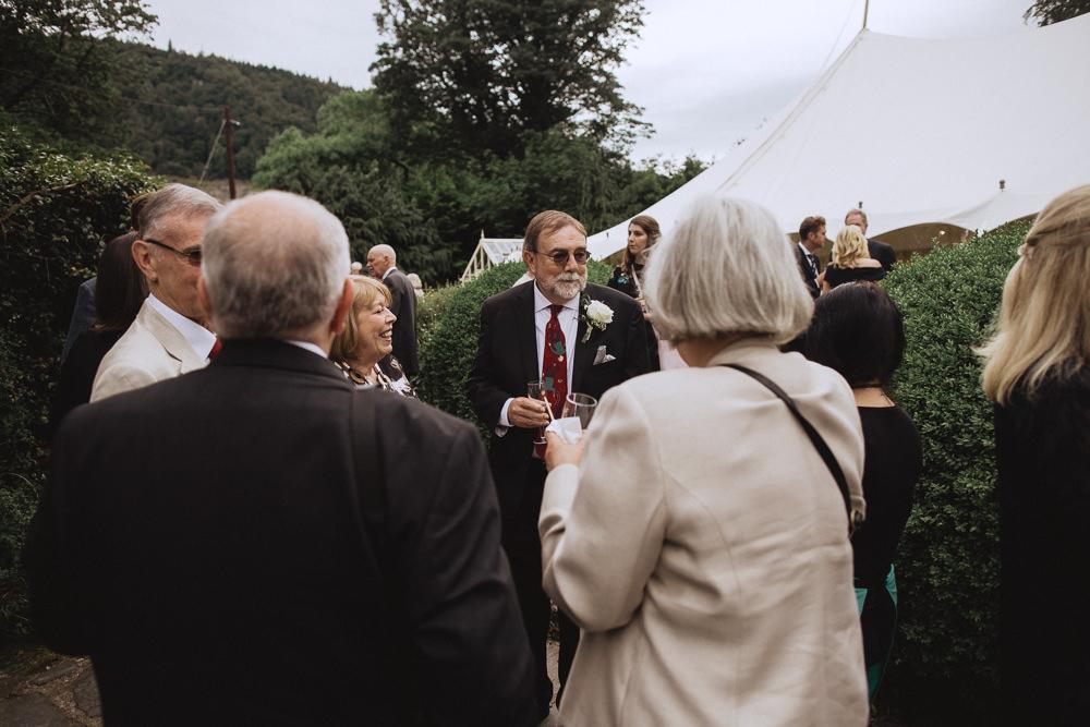 Natural Marquee Wedding Fox & Bear Photography