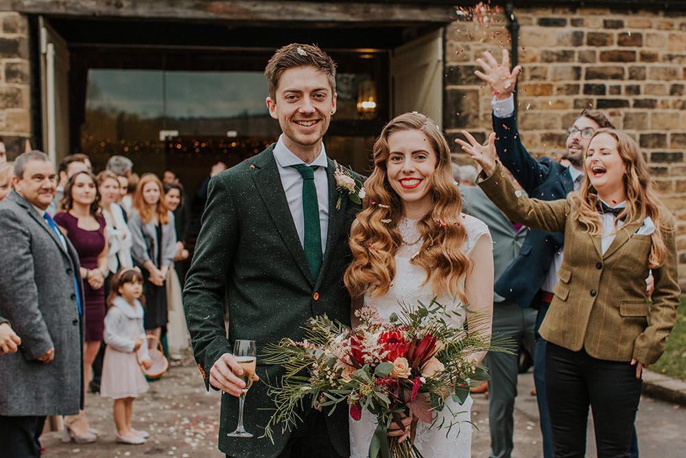Confetti Simple Autumn Wedding Maddie Farris Photography