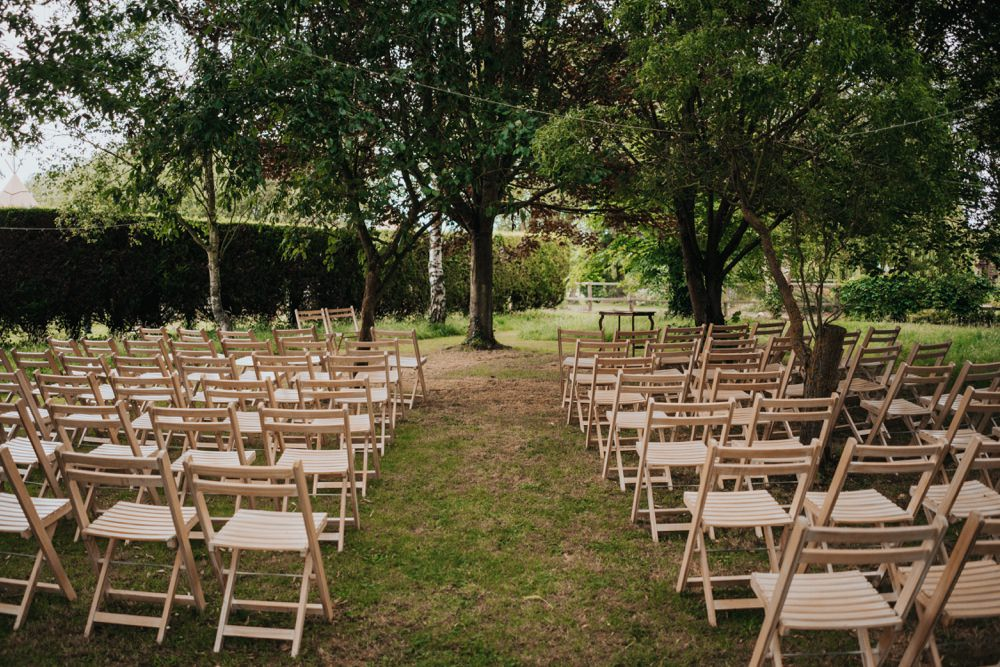 Outdoor Ceremony Animal Lovers Wedding Bloom Weddings