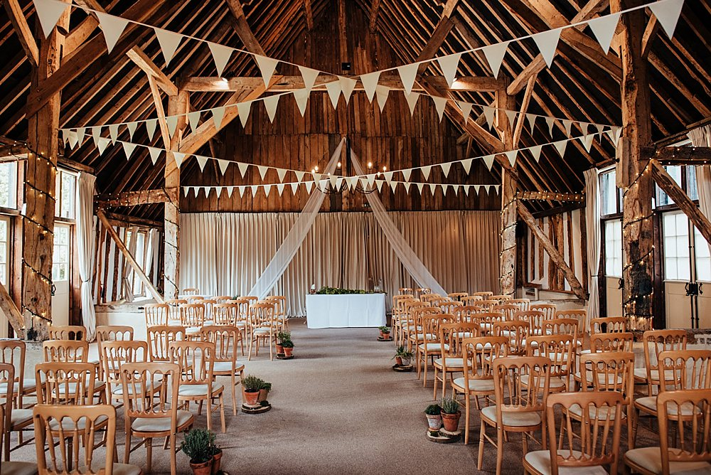 Barn Bunting Fabric Aisle Altar Boho Rustic Wedding This and That Photography