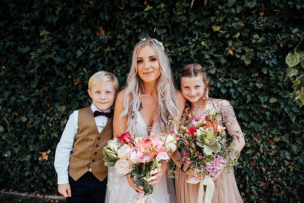 Flower Girl Page Boy Boho Rustic Wedding This and That Photography