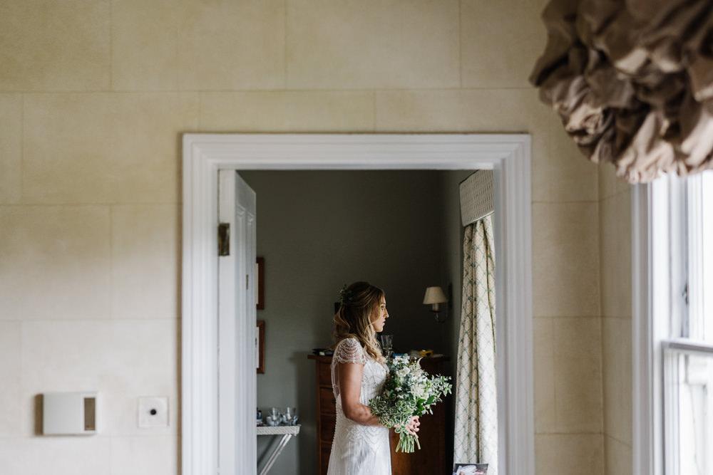 Dress Gown Bride Bridal Maggie Sottero Slip Dress Beaded Overlay Lodge Farm Wedding David Boynton Wedding Photography