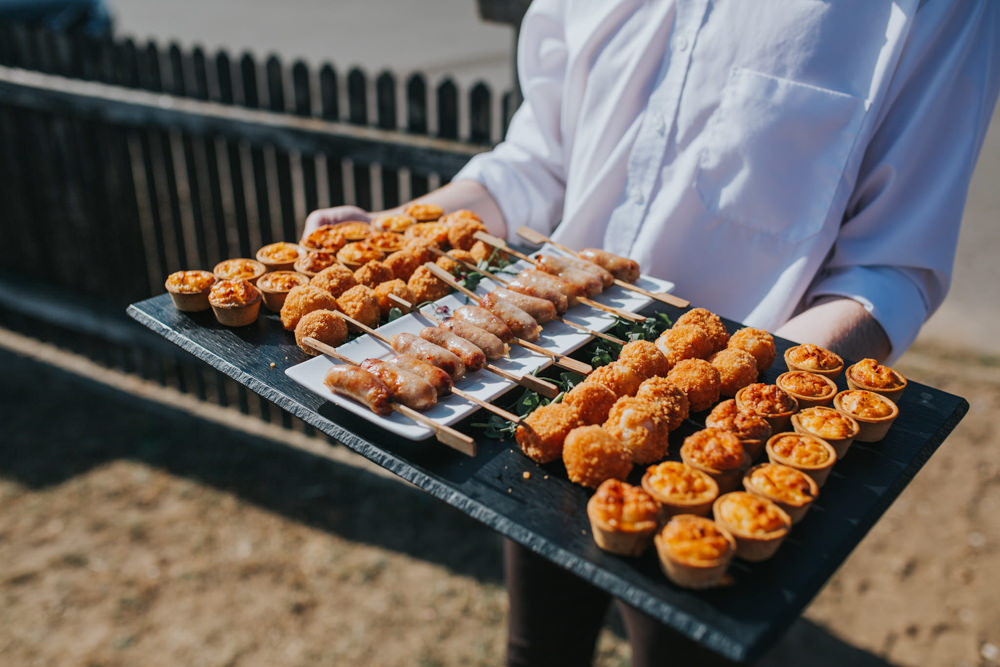 Canapes Thorpeness Country Club Wedding Charlotte Razzell Photography