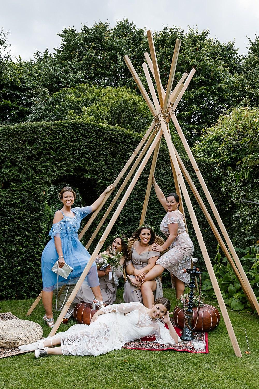 Naked Tipi Chaucer Barn Wedding Katherine Ashdown Photography