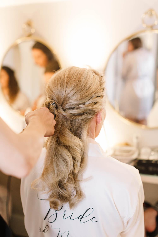 Bride Bridal Hair Style Up Do Plait Braid Accessory Dove Grey Wedding Danielle Smith Photography