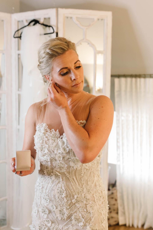 Bride Bridal Make Up Dove Grey Wedding Danielle Smith Photography
