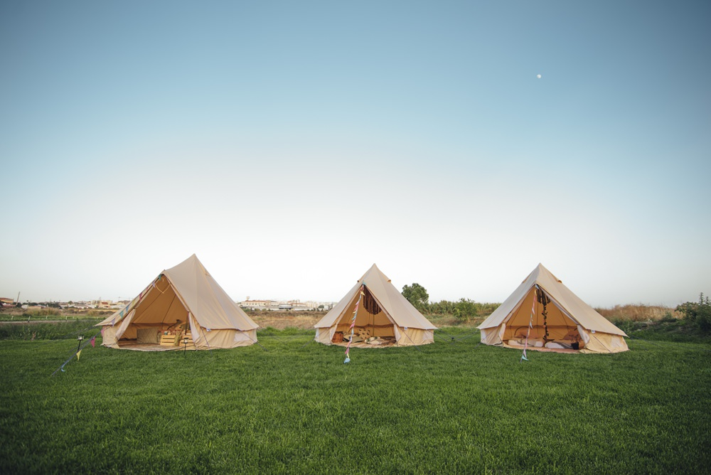 The Canvas Tribe Wedding Camping Glamping Tents