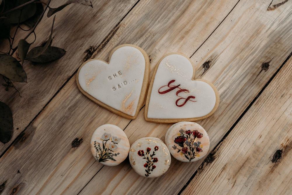 Cookies Biscuits Balloon Wedding Ideas Leesha Williams Photography