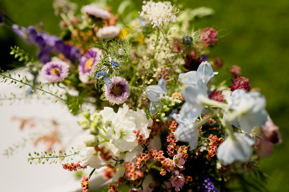 Bouquet Flowers Pretty Wild Natural Holford Estate Wedding Voyteck Photography