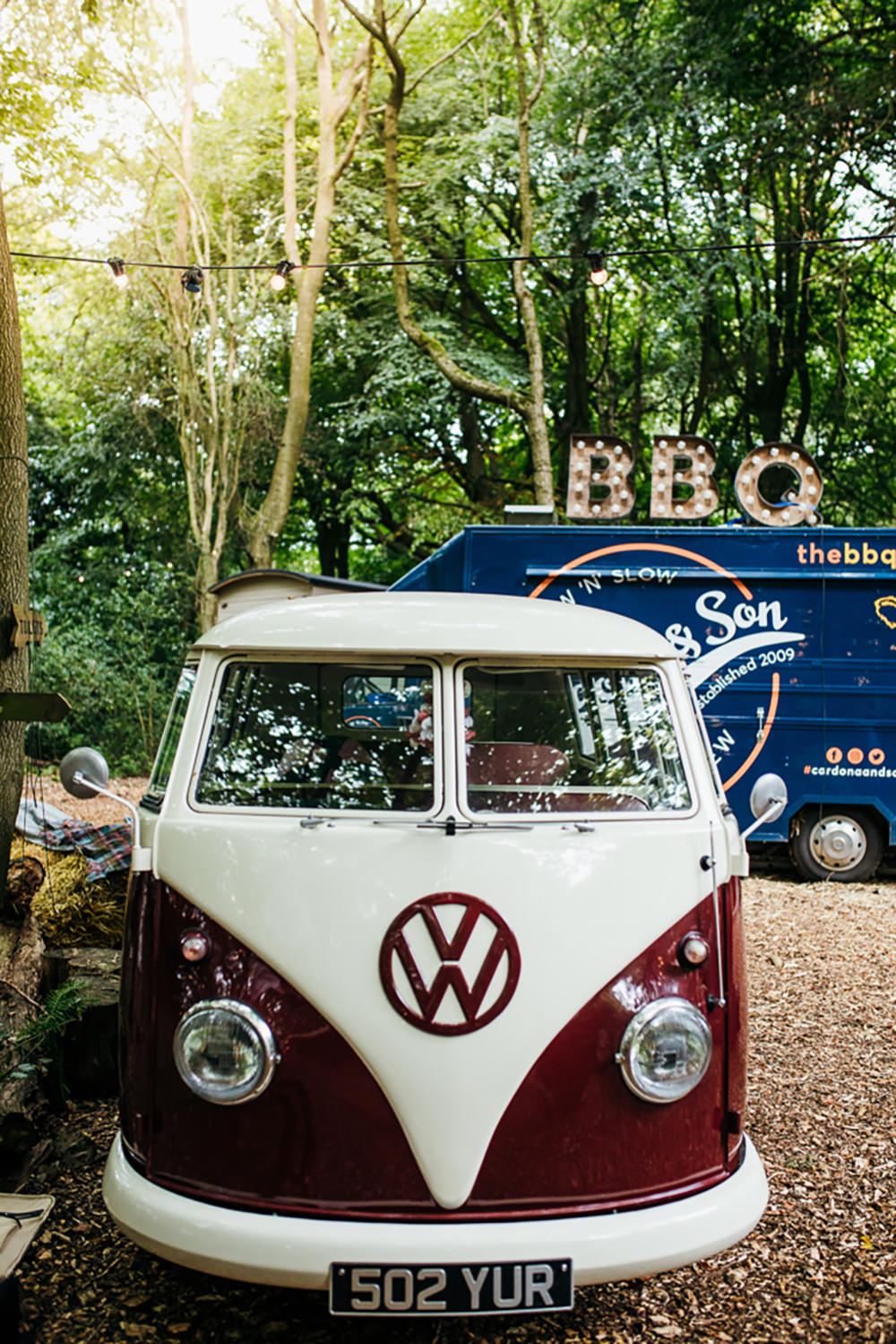 VW Campervan Lila's Wood Wedding Two-D Photography