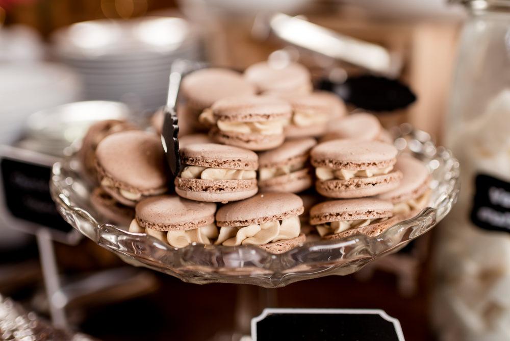 Macarons Bonhams Barn Wedding Will Patrick Photography