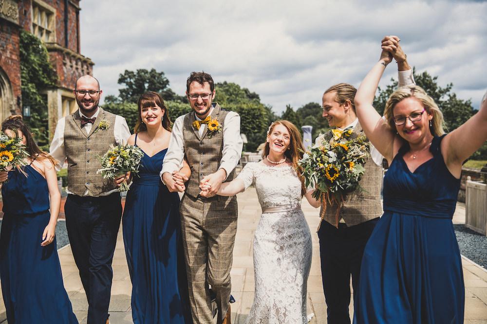 Burley Manor Wedding Becky Bailey Photographer