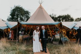 Tipi Reception Country Festival Wedding Jonny Gouldstone Photography