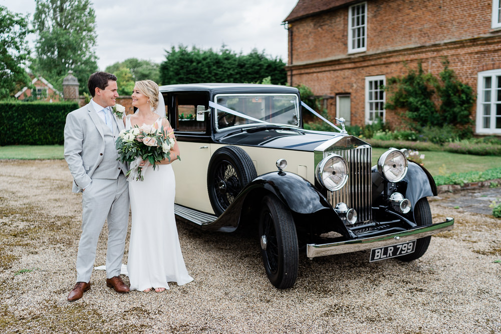 Classic Car Transport Great Lodge Wedding Gemma Giorgio Photography