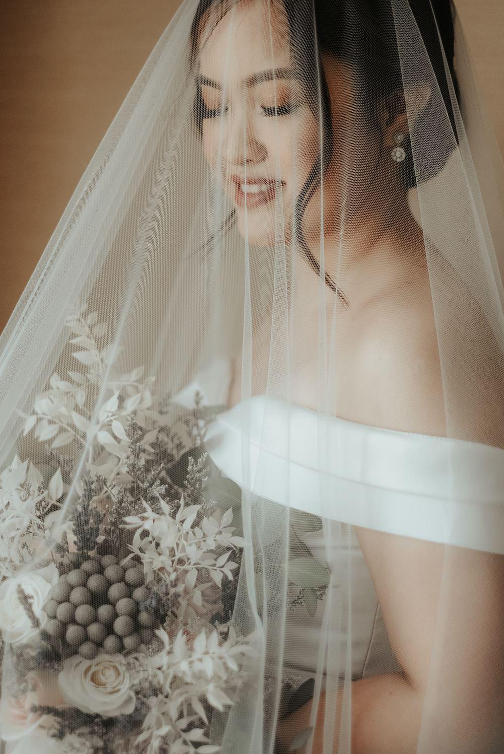 Bride Bridal Veil Make Up Hair Philippines Wedding The Backyard Studios