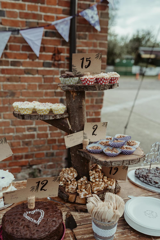 Bake Off Cake Dessert Red Brick Barn Wedding Jess Soper Photography