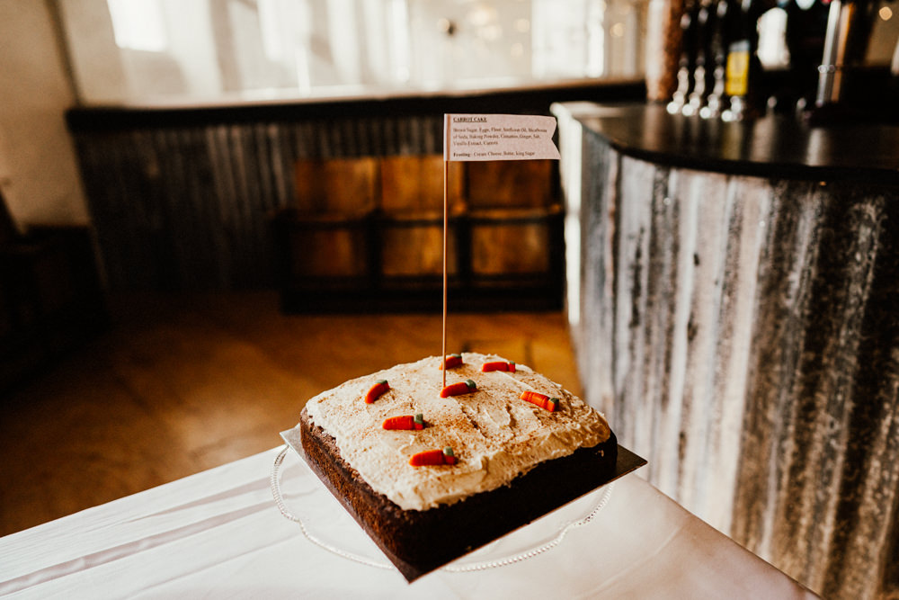 Cake Brewery Wedding Ginger Beard Weddings