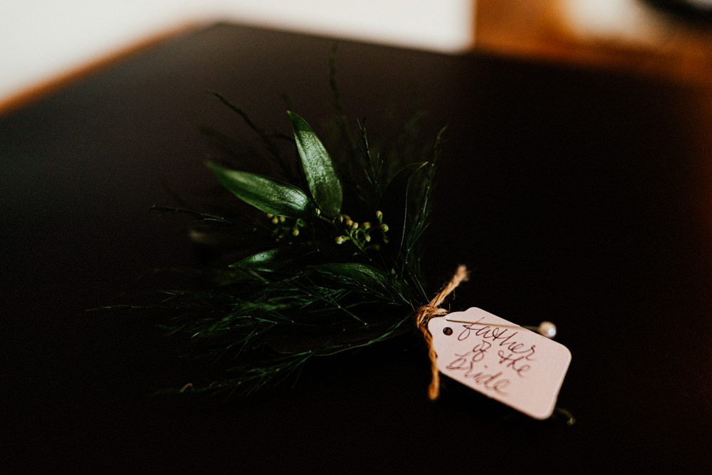Buttonhole Flowers Brewery Wedding Ginger Beard Weddings