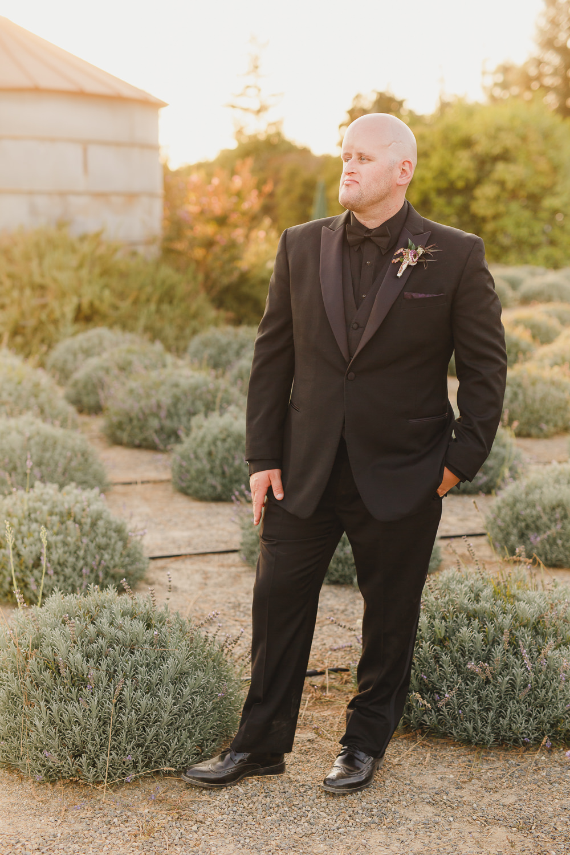 Groom Groomsmen Tux Tuxedo Black Tie Enchanted Forest Wedding Kristen Booth Photography