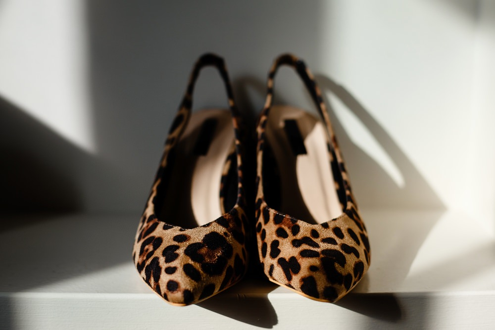 Leopard Print Shoes Bride Bridal Great John Street Hotel Wedding About Today Photography