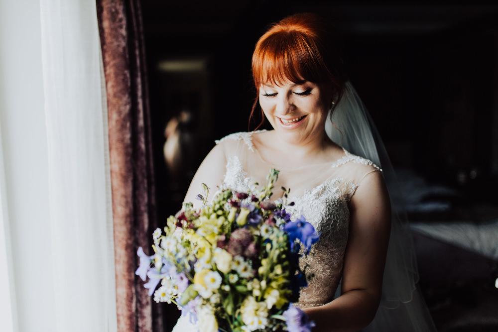 Bride Bridal Veil Homemade Wedding Wyldbee Photography
