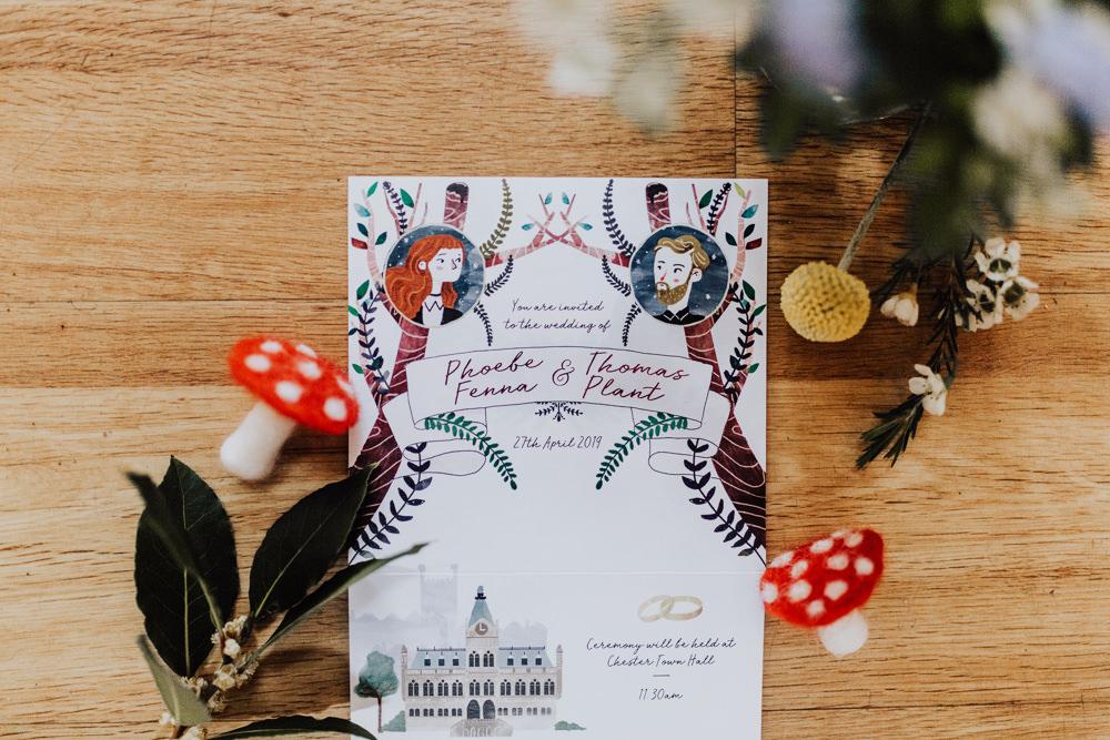 Stationery Invite Invitation Homemade Wedding Wyldbee Photography