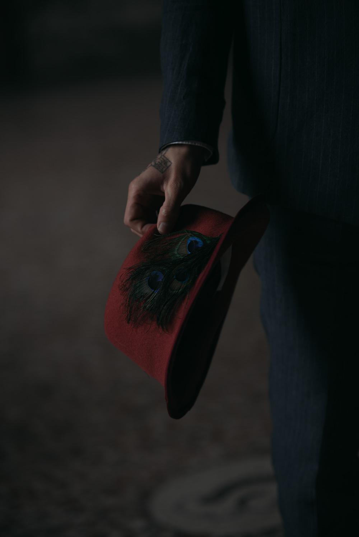 Groom Hat Italy Elopement Ideas Gradisca Portento Fotografica