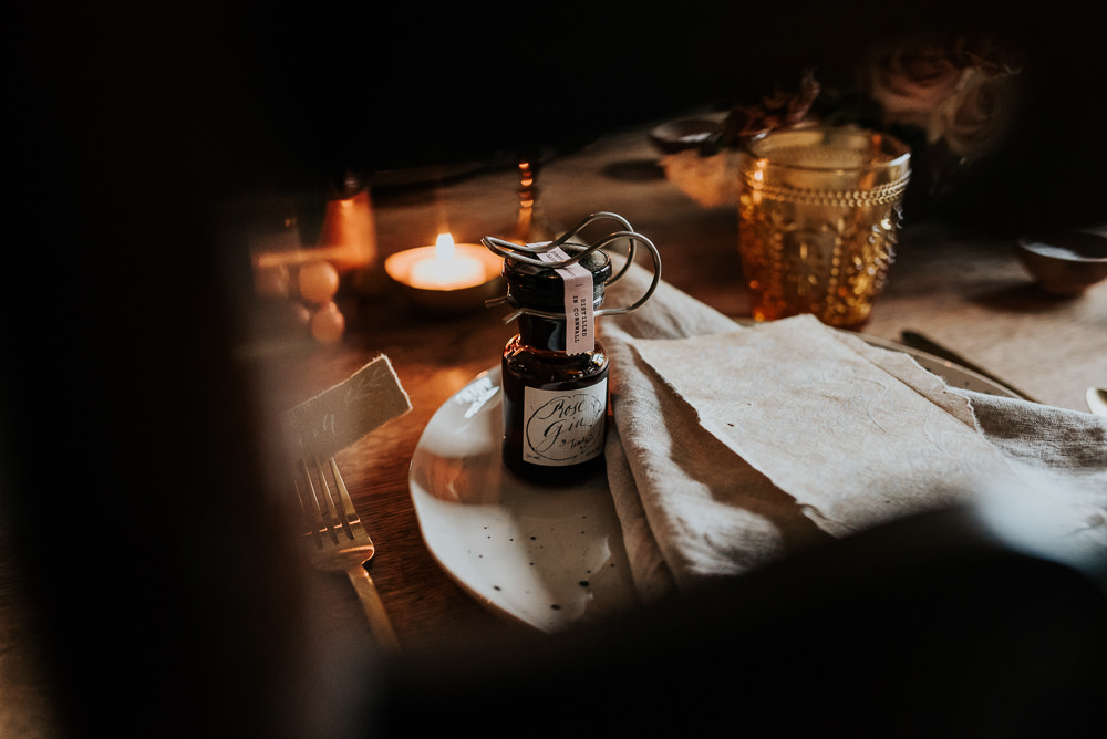 Bottle Favour Lake District Elopement Jenny Appleton Photography